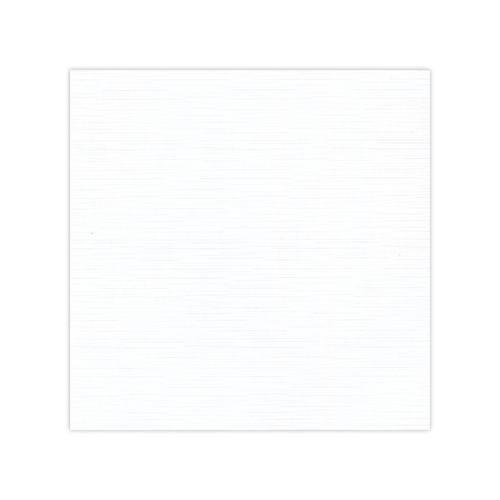 Linnen karton 30,5 x 30,5 cm / White