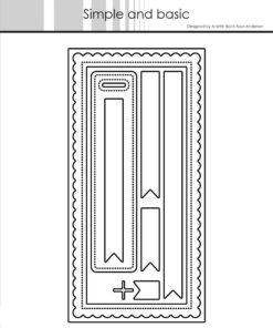 Dies / Mini slimcard / Simple and Basic