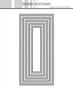 Dies / Base - Mini slimcard / Simple and Basic
