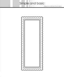 Dies / Mini slimcard Add-on / Simple and Basic