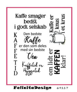 Stempel / Tak for kaffe / Felicita Design