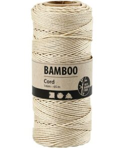 Bamboo cord / Off-white