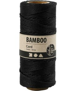 Bamboo cord / black