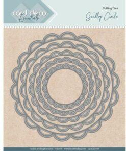 Dies / Scallop circle / Card Deco