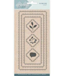 Dies / Slimline leaf / Card Deco