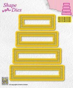 Dies / Set of 4 tags - 2 / Nellie Snellen