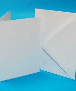 Kort & Kuverter, Deckled A6