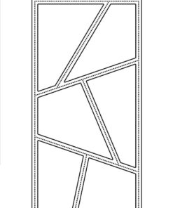 Dies / Slimcard wonky window / Simple and Basic
