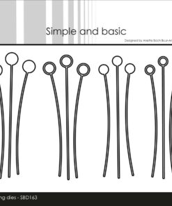 Dies / Decorative dot branches / Simple and Basic