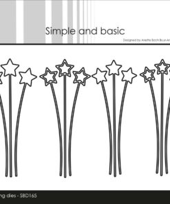 Dies / Decorative star branches / Simple and Basic