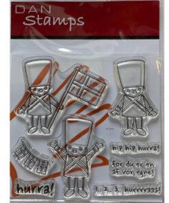 Stempel / Garder hurra / Dan Stamps