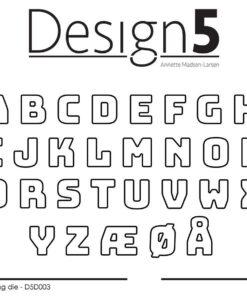 Dies / Lille alfabet / Design5