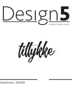 Stempel / Tillykke / Design5
