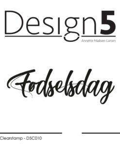 Stempel / Fødselsdag / Design5