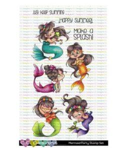 Stempel / Mermaid party / C.C Design