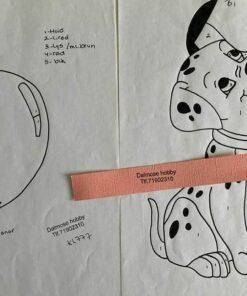 Uro / 101 Dalmatiner / Lap på lap
