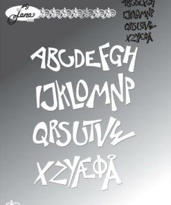 Dies / Funky alfabet / By Lene