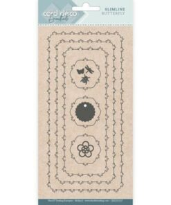 Dies / Slimline butterfly / Card Deco