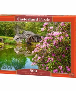 Puzzlespil / Mølle ved dammen, 500 brikker
