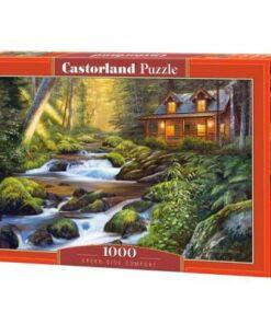 Puzzlespil / Hygge i skoven, 1000 brikker