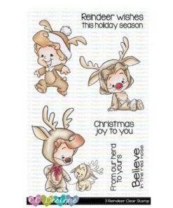Stempel / 3 Reindeer / C.C Design