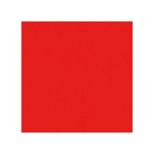 Linnen karton 30,5x30,5 cm / Rød