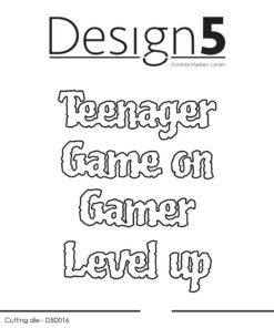Dies / Teenager & Gamers / Design5