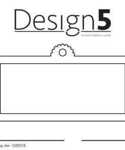 Dies / Mini slim tag / design5