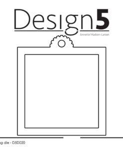 Dies / Square tag / Design5