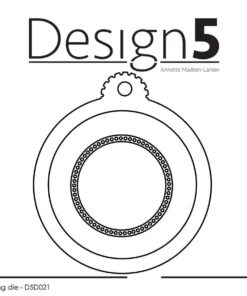 Dies / Circle tag / Design5