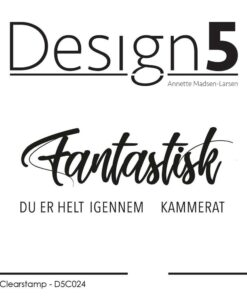 Stempel / Fantastisk / Design5