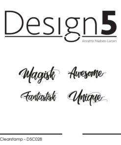 Stempel / Små tekster / Design5
