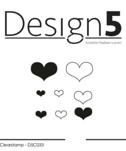 Stempel / Hearts / Design5