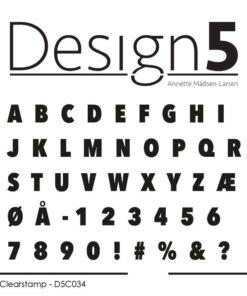 Stempel / Alphabet / Design5