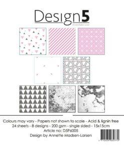 Karton 15x15 cm / Pink sky / Design5