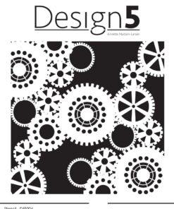 Stencil / gears / Design5