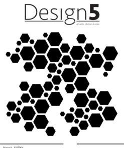 stencil / Hexagon / design5