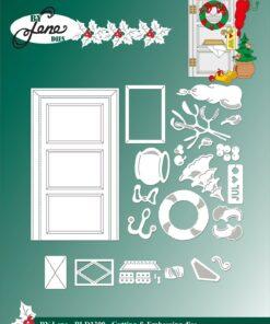 Dies / Christmas door / By Lene