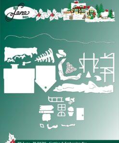 Dies / Christmas Landscape / By Lene