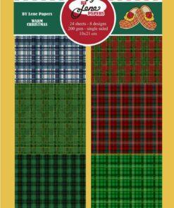 Karton slimcard / Warm Christmas / By Lene