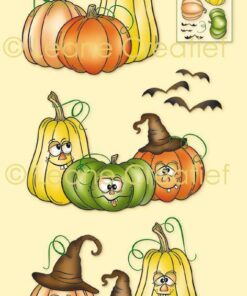 Stempel / Pumpkins / Leane Creatief
