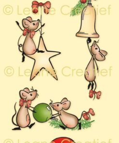 Stempel / The world of mice / Leane Creatief