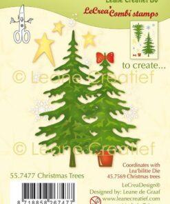 Stempel / Christmas Trees / Leane Creatief