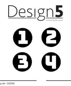 Dies / Advent numbers / design5