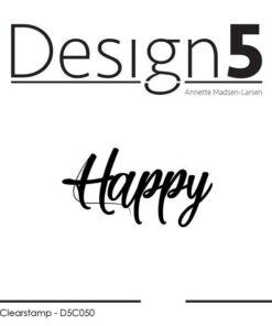 Stempel / Happy / design5
