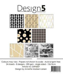 Karton 15x15 cm / Circles og saturn / Design5