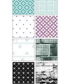 Karton slimcard / Meteor rain / Design5