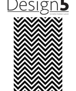 Stencil / Zig Zag / Design5