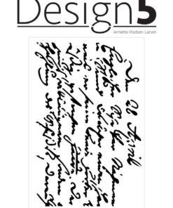 Stencil / Script / Design5