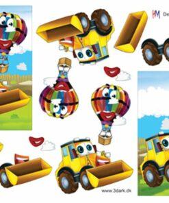 Maskine og luftballon / Hm Design